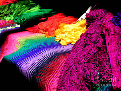 Photograph - Cotton Rainbow by Alexandra Jordankova