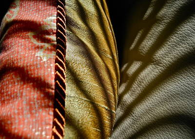 Photograph - Cotton Silk And Leather by Kirsten Giving
