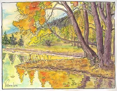 Cottonwood Cove Art Print