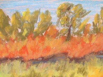 Pastel - Cottonwood Grove by Steve Jorde