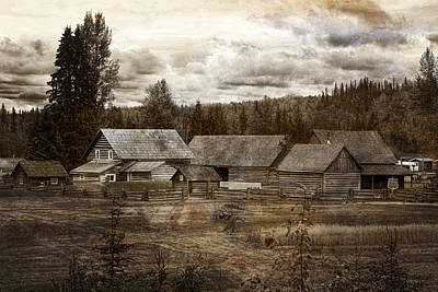 Photograph - Cottonwood House by Inge Riis McDonald