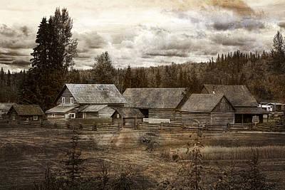 Barkerville Photograph - Cottonwood House by Inge Riis McDonald