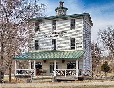 Photograph - Cottonwood Station Milling Company by Liane Wright