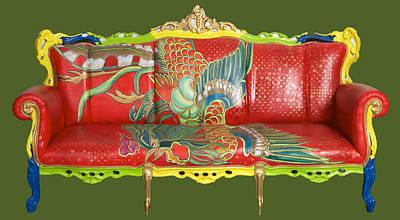 Couch Phoenix Art Print