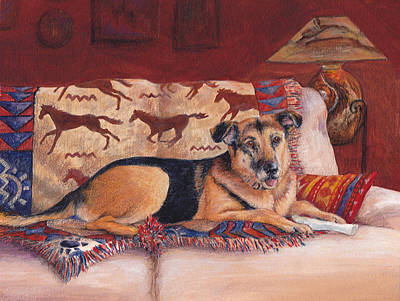 Painting - Couch Potato by Terry Albert