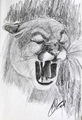 Cougar 2 Art Print