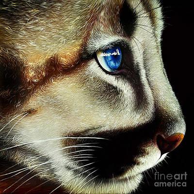 Cougar Cub Original by Jurek Zamoyski