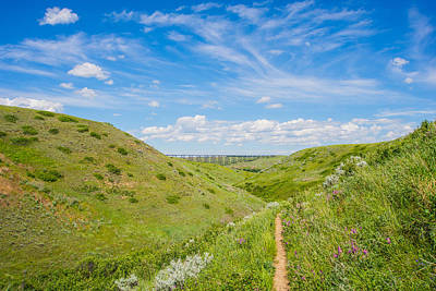Photograph - Coulees Of Lethbridge by Dwayne Schnell