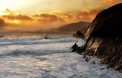 Photograph - Coumeenole by Florian Walsh