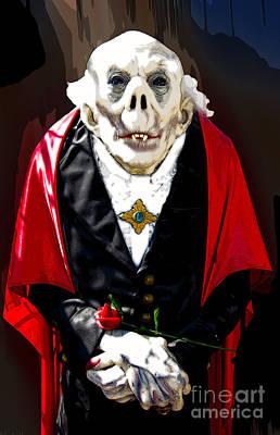 Photograph - Count Dracula by Paul Mashburn