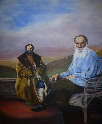 Count Leo Tolstoy Original by Bob Chesney