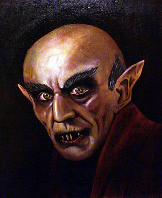 Nosferatu Painting - Count Orlok by William Gambill