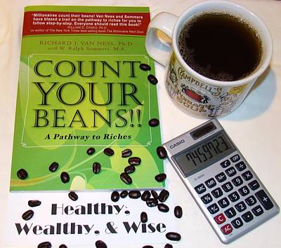 Count Your Beans Art Print