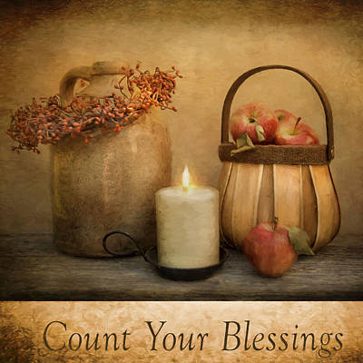 Count Your Blessings Art Print by Robin-Lee Vieira