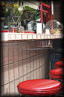 Photograph - Counter Service by Nadalyn Larsen
