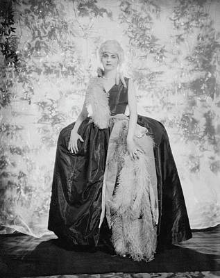Photograph - Countess Alfonso Villa As The Duchess by Edward Steichen