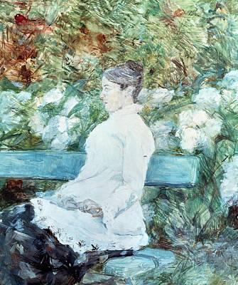France From 1886 Painting - Countess Lautrec by Henri de Toulouse-Lautrec