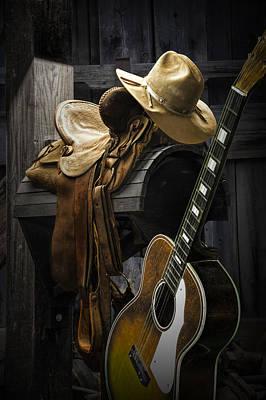 Country And Western Music Art Print