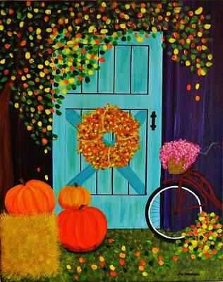 Painting - Country Autumn by Celeste Manning