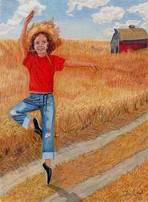 Country Ballerina Original by Gail Seufferlein