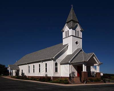 Photograph - Beach Country Church by Bill Swartwout