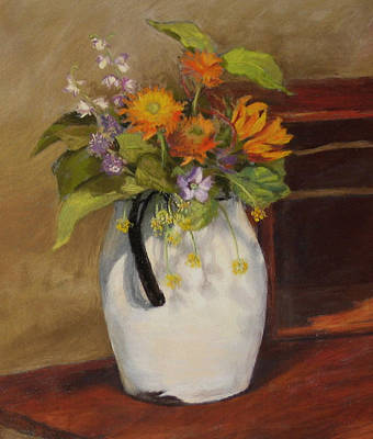 Painting - Country Bouquet by Vikki Bouffard