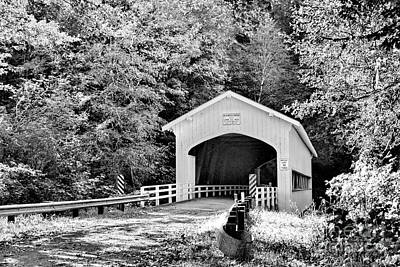 Photograph - Country Bridge by Ansel Price