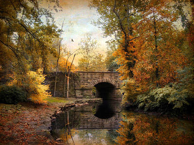 Photograph - Country Bridge by Jessica Jenney