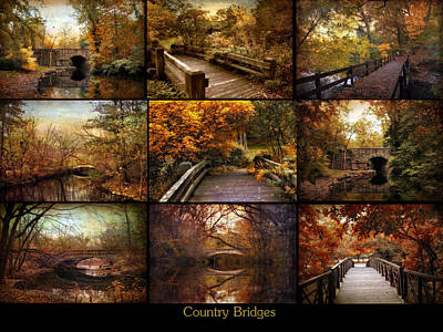 Photograph - Country Bridges by Jessica Jenney