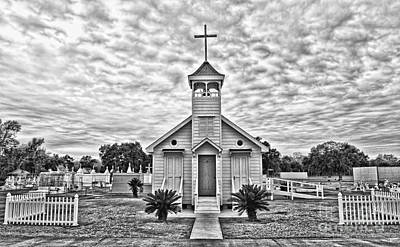 Pellegrin Photograph - Country Chapel by Scott Pellegrin
