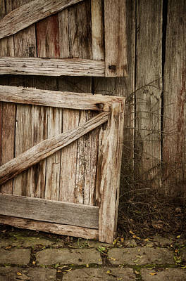 Old Wood Photograph - Country Charm by Amy Weiss