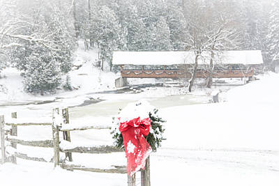 Photograph - Country Christmas by Cheryl Baxter