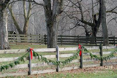 Photograph - Country Christmas by Living Color Photography Lorraine Lynch