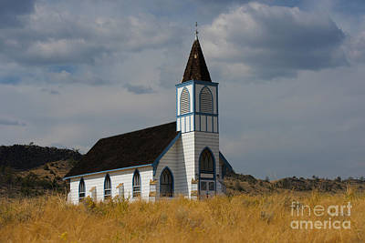 Photograph - Country Church by Birches Photography