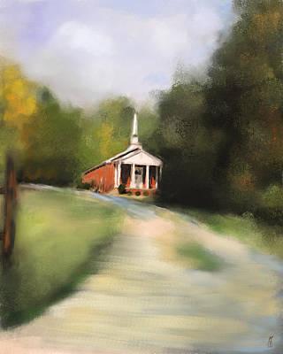 Painting - Country Church by Jai Johnson