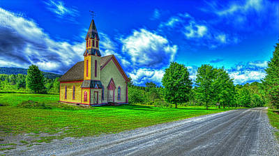 Photograph - Country Church by Jim Boardman