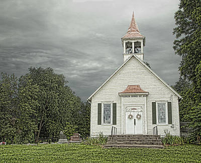 Photograph - Country Church by John Crothers