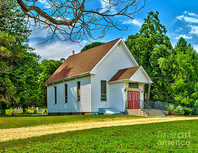 Photograph - Country Church by Nick Zelinsky