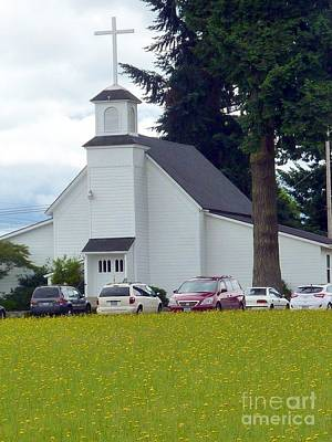 Photograph - Country Church  by Susan Garren