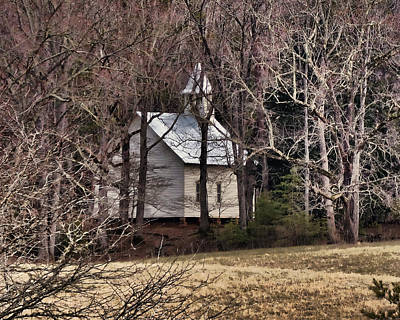 Photograph - Country Church by TnBackroadsPhotos