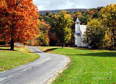 Photograph - Country Church by Tom Brickhouse