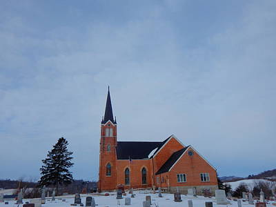 Photograph - Country Church by Wild Thing