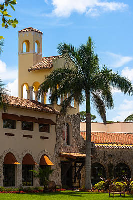 Photograph - Country Club Of Coral Gables by Ed Gleichman