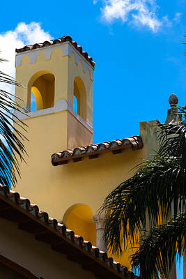 Photograph - Country Club Of Coral Gables Tower by Ed Gleichman