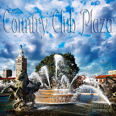 Photograph - Country Club Plaza by Andee Design
