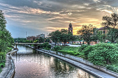 Riverwalk Photograph - Country Club Plaza  by Corey Cassaw