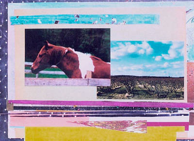 Country Collage 5 Art Print