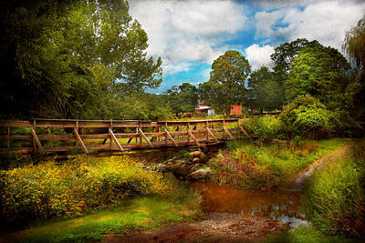 Country - Country Living Print by Mike Savad