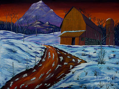 Painting - Country Dawn by Anthony Dunphy