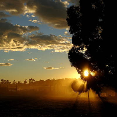 Photograph - Country Dawn by Peter Mooyman